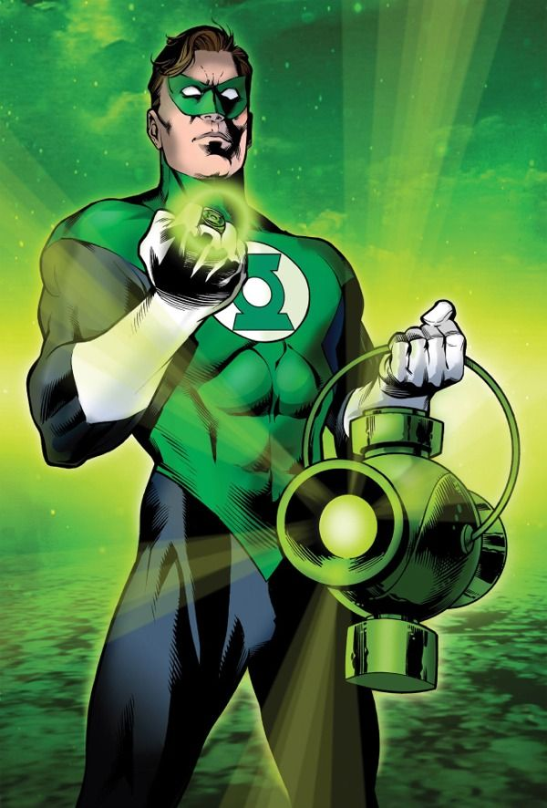 green lantern- I didn't really get into this DC character until I read about the movie.  He is pretty cool and has a great origin and back story.  The universe that he inhabits is connected not only to earth but also the universe, which creates a vast fantasy playground for him.  His powers are unique and fantastic.  The way his power ring works is genius.  Great costume too.