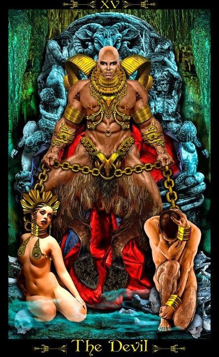 The Devil - Tarot Illuminati - Eric C. Dunne