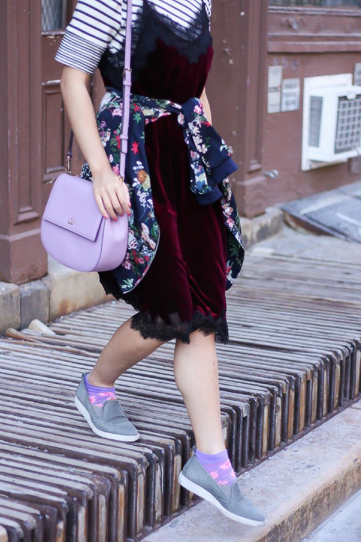 Sporty girly outfits, sporty girly style, slip on sneakers outfit. Shop the look on www.layersofchic.com