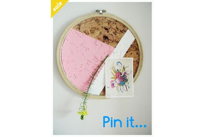 PIN IT- cork pin up boards by a thousand paper cranes on hellopretty.co.za