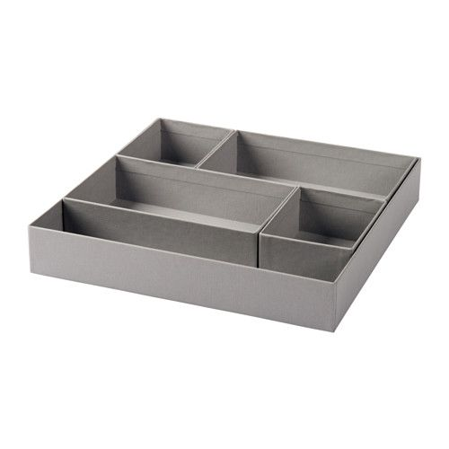 GLEVE Box, set of 5 IKEA These boxes help you organize and store smaller items…