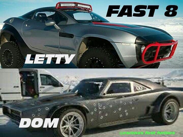 Fast Furious 1327 On Instagram Fast 8 Lettyortiz