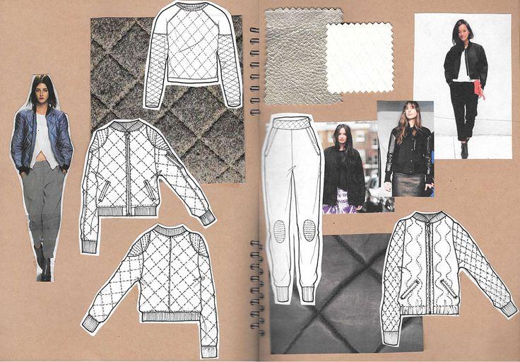 Fashion Sketchbook - fashion drawings; fashion design process; fashion portfolio // Alexandra Canter                                                                                                                                                                                 Más