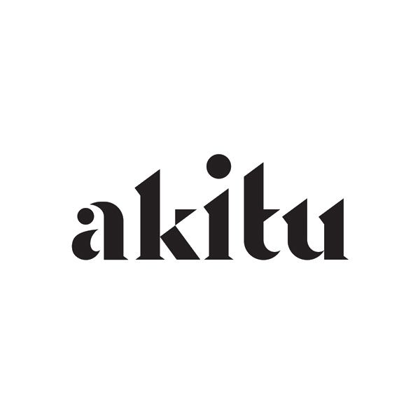 Logotype for wine label Akitu designed by Inhouse.