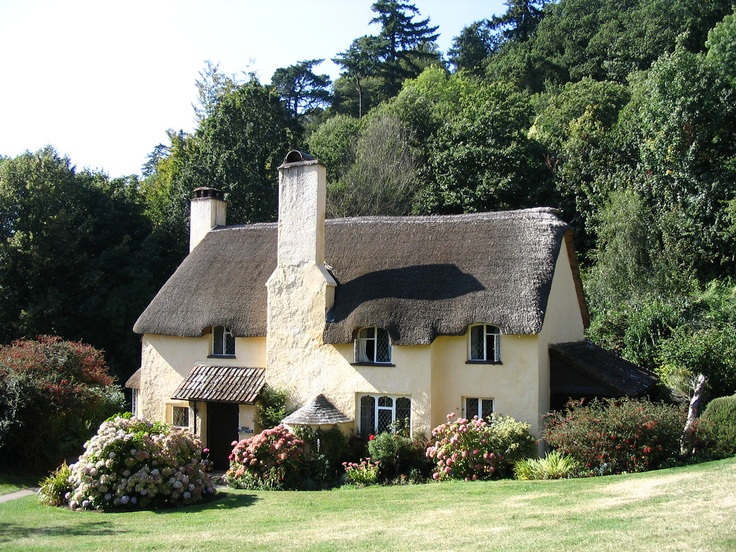 Exmoor cottage (by Pengannel) Somerset, England Rhttp://www.flickr.com/photos/pengannel/368202020/