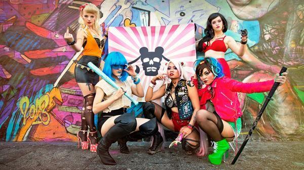 The Sailor Moon Biker Gang [Cosplay] - Fashionably Geek