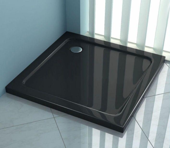 #Brodzik #kwadratowy - #Rea #perfect #space, czarny o rozmiarze 80x80cm z syfonem w zestawie ! Cena: 327 zł