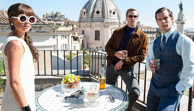Alicia Vikander, Armie Hammer, and Henry Cavill in The Man From U.N.C.L.E.