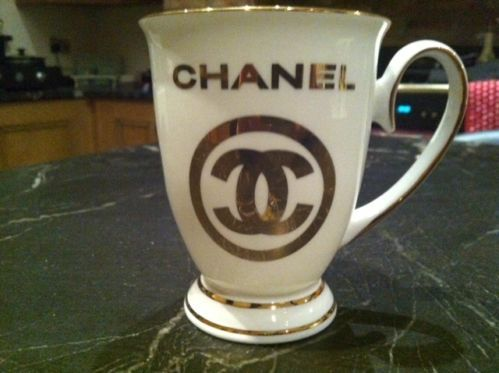 Chanel Cup Ebay In 2019 Chanel Decor Chanel Chanel