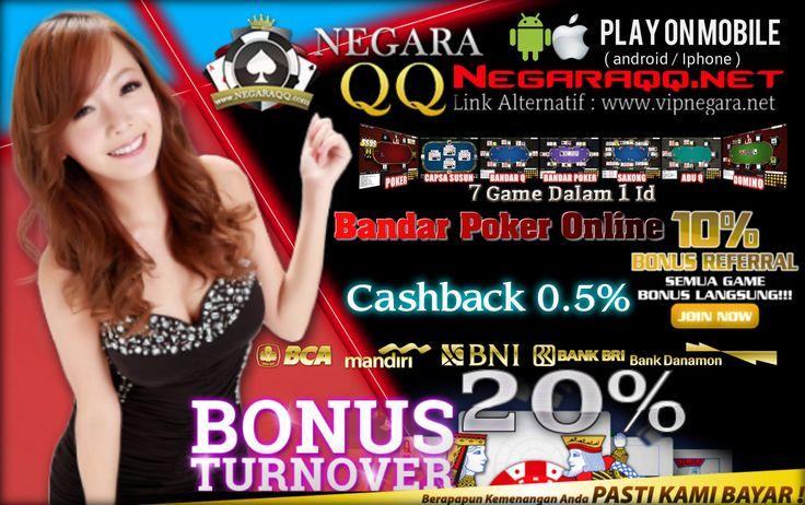 Segera bergabung bersama kami di Situs Agen Domino dan Poker Online Terpercaya Di Indonesia. 7 Game Dalam 1 Akun - Daftar Gratis dan Tidak Ribet  * Minimal Depo Rp.10.000,- * Minimal Withdraw Rp.20.000,-  Link Arternative : www.vipnegara.net                    :                    : http://agennegaraqq.logdown.com/  #agenpoker #agenjudi #pokeronline #judi99 #judipoker #domino99 #dominoQQ #agendomino