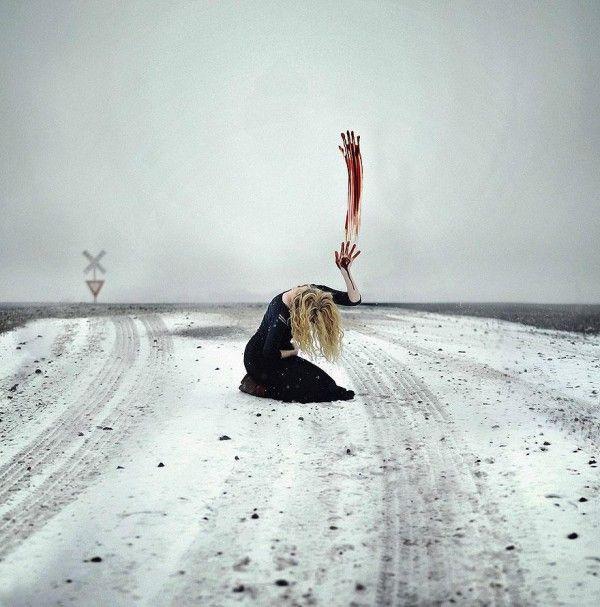 Surreal and conceptual self portraits by Rachel Baran - ego-alterego.com