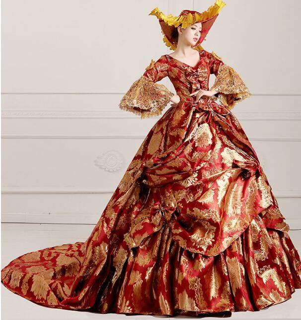 Trajes de Halloween para as mulheres vestidos de princesa medieval rainha traje edwardian vitoriano bola senhoras vestido vitoriano traje 3xl em   de   no AliExpress.com | Alibaba Group