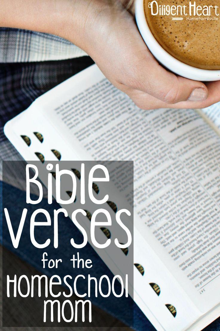 Bible Verses for the Homeschool Mom