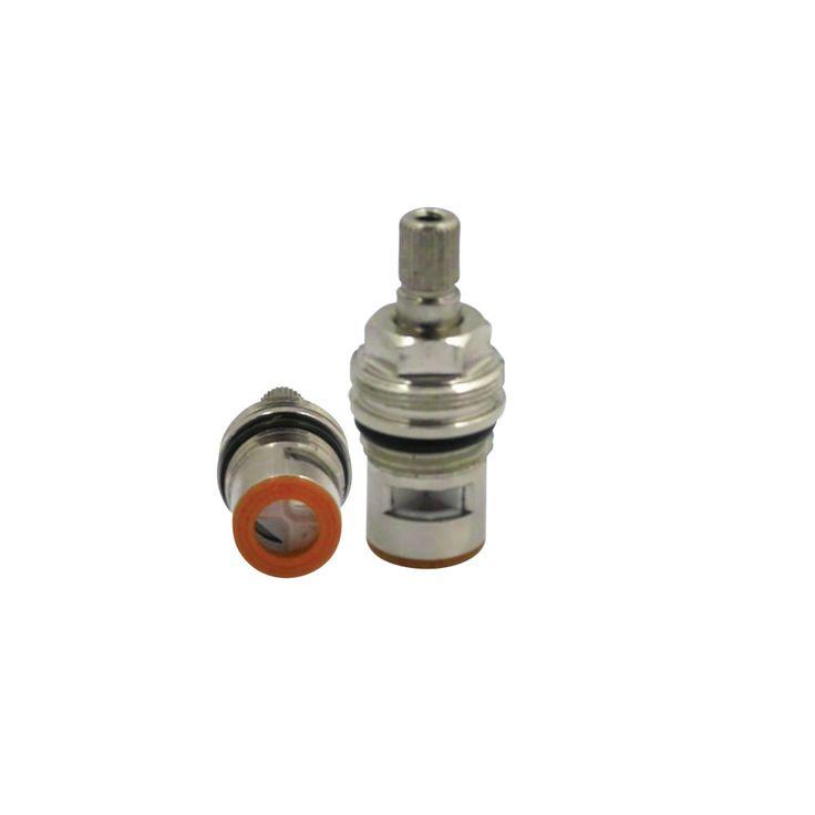 "Kingston Brass KSRPLC4000HC Hot Cartridge For 4"" Lavatory Faucet (KS4641DL Series) - Price: $24.95 & FREE Shipping over $99"
