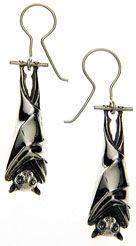 Ruth Waterhouse Bat Earrings