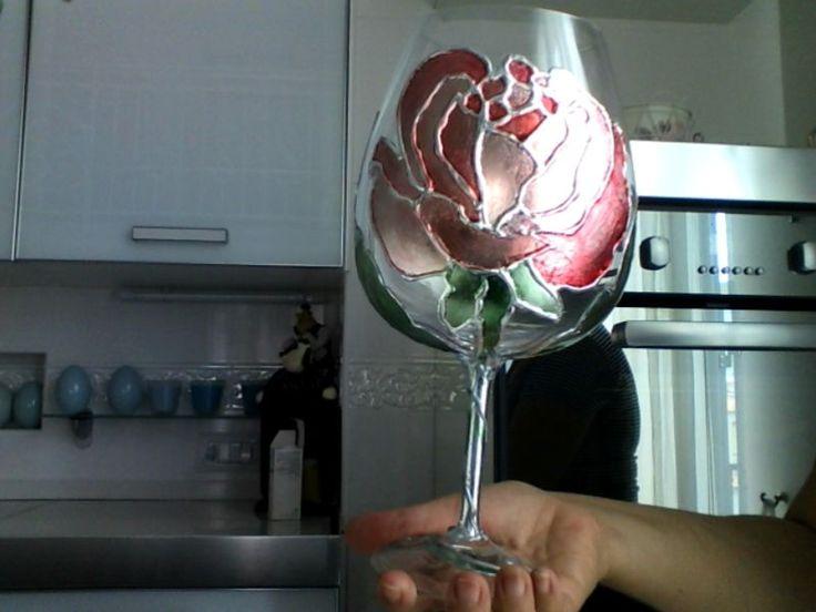 rosa argentea