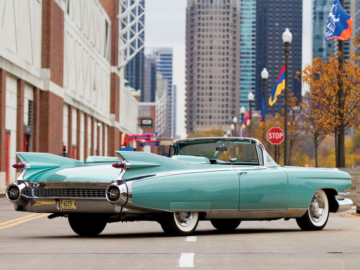 1959 Cadillac Eldorado Biarritz  It has always been a dream for me to drive one of these oldies and feel timeless..