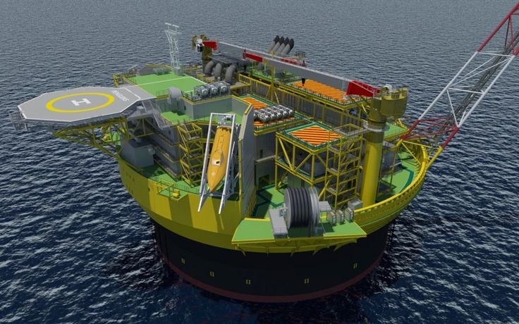 Shell Penguins cylindrical FSPO to be Built by Sevan Marine