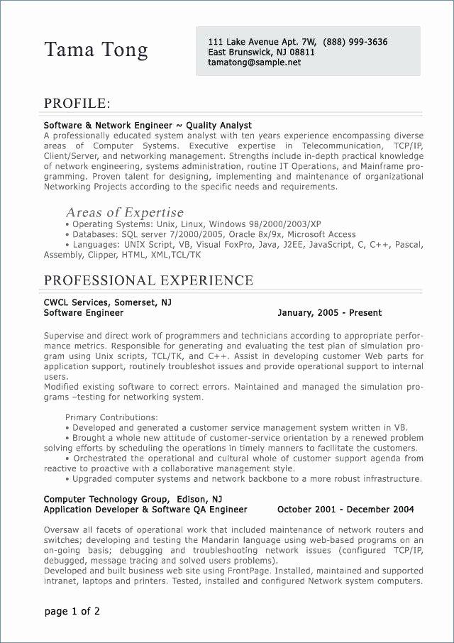 Entry Level Sql Developer Resume Awesome Etl Informatica Developer Resume Samples