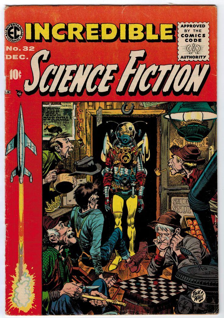 Comic Book Cover Art For Sale ~ Best ec comics ideas on pinterest horror