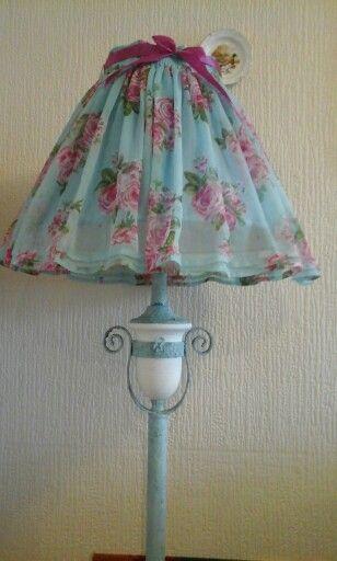 Verdigris Lamp Stand