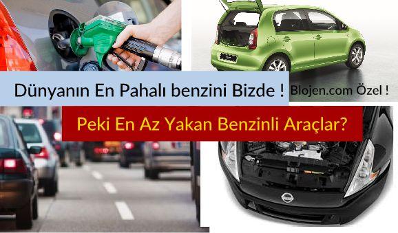 En Az Yakan Benzinli Araçlar 2017 Güncel Araç Listesi