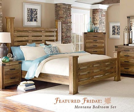 Superior Bring A Taste Of Fall And The Mountains Into Your Home With The Montana Bedroom  Set