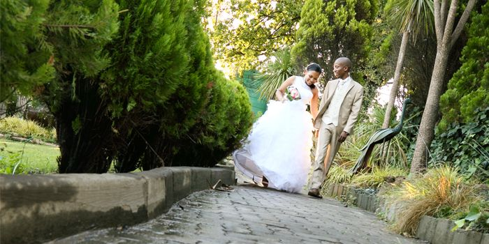 African wedding photography