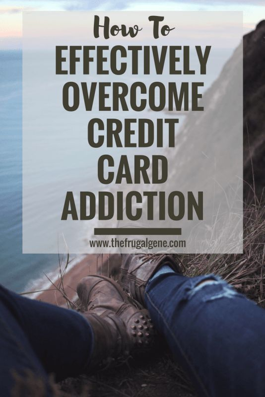 How to pay off credit card debt and understand the root cause of the addiction.