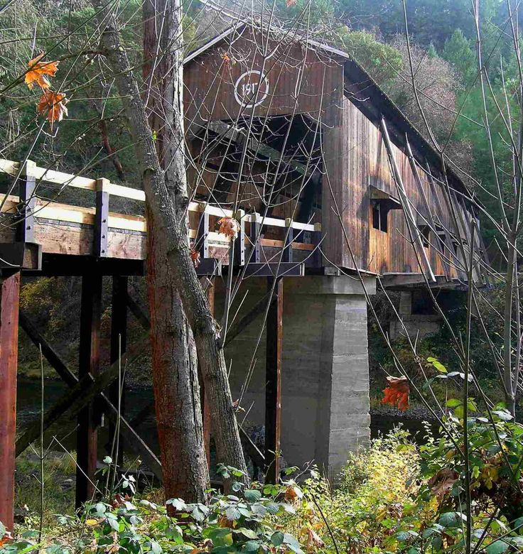 McKee Covered Bridge - Oregon