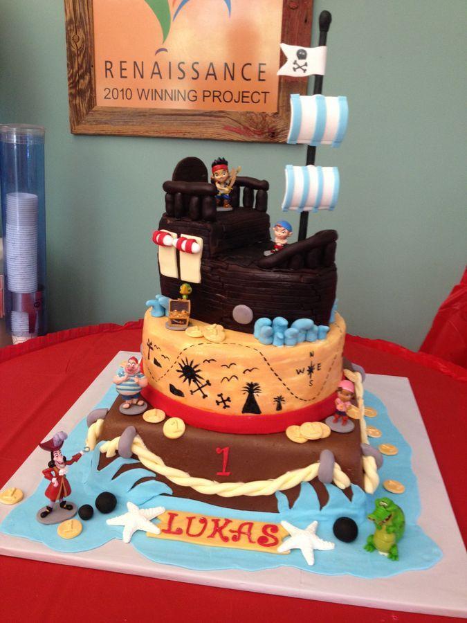 Jake And Pirates Birthday Cake