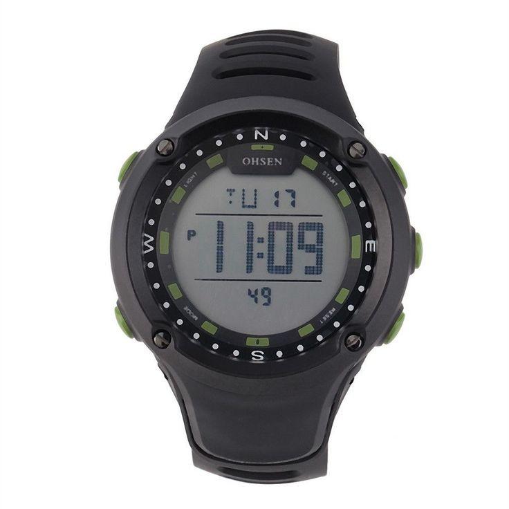 Sport Watches For Health Unisex Luxury Silica Gel Strap Digital Sport Running Wrist Watch