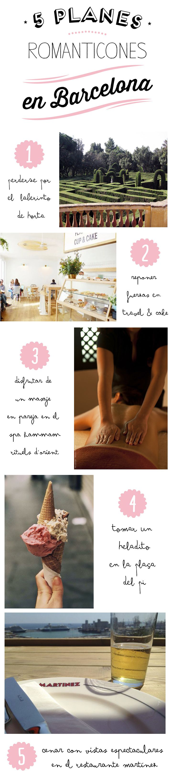 5 planes románticos para hacer en Barcelona.