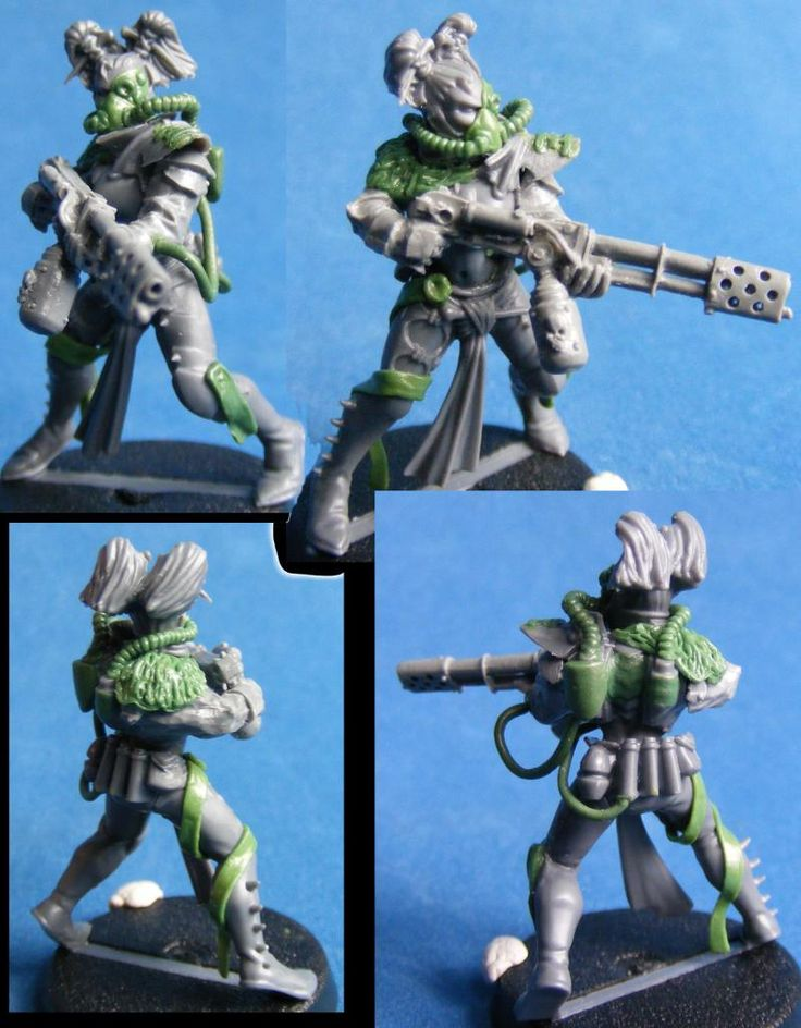 Inquisitor, Warhammer 40,000, Warrior Acolyte - =I= Warrior acolyte with flamer - Gallery - DakkaDakka | Why talk it out when you can shoot it out?