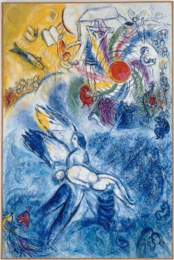 La Création de l'homme   Marc Chagall   1956-1958
