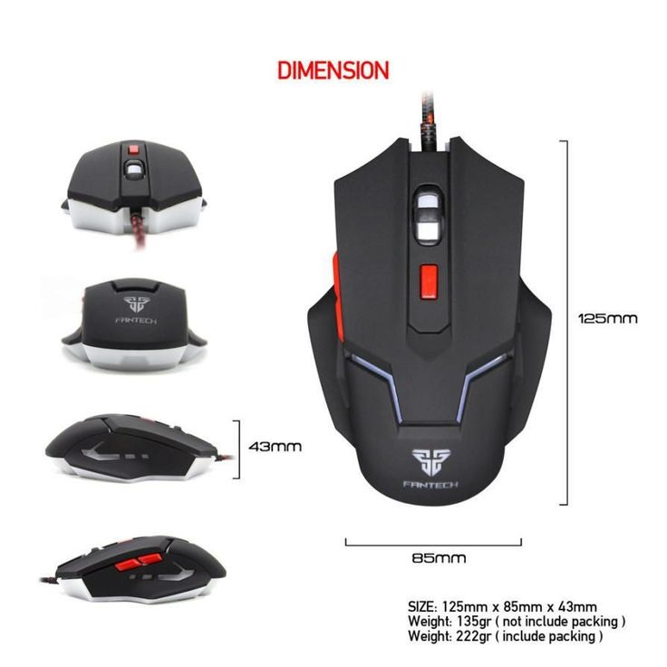 Brand Mouse Gamer Gift Adjustable 2400DPI Optical Wired Gaming Game Mice Mouse For High-End Player Laptop HIgh Quality HOT #2016