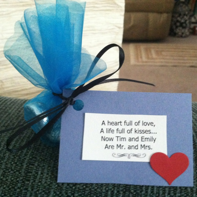 Wedding Favors I Did Not Make Up The Quote However Found That