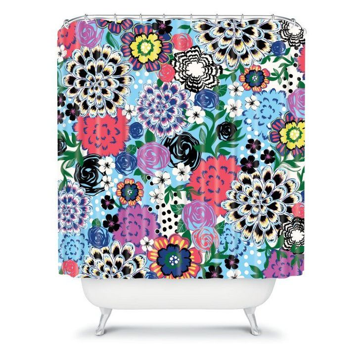 DENY Designs Khristian A Howell Valencia 1 Shower Curtain - 13023-SHOCUR