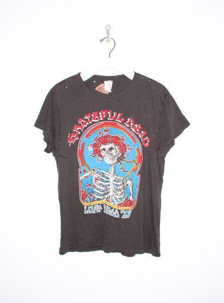 Grateful Dead 1979 Tee in Black BY MADEWORN
