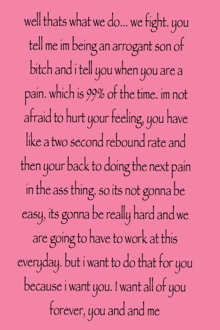 my favorite quote from the movie The Notebook