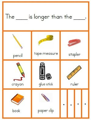 Kindergarten Common Core Measurement and Data Resources