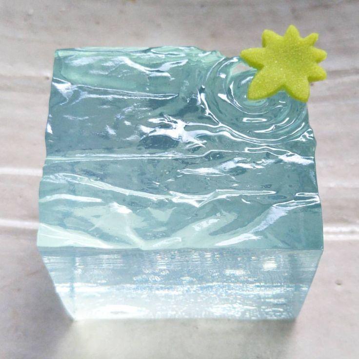 #和菓子 #初夏の水