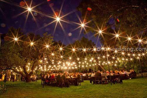 outdoor night wedding decorating ideas wedding idea wedcowcom evening wedding decoration ideas 500x334