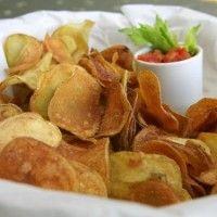 bramborové domácí chipsy