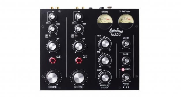 MASTER SOUNDS & UNION AUDIO LAUNCH NEW TWO CHANNEL ROTARY MIXER, RADIUS 2
