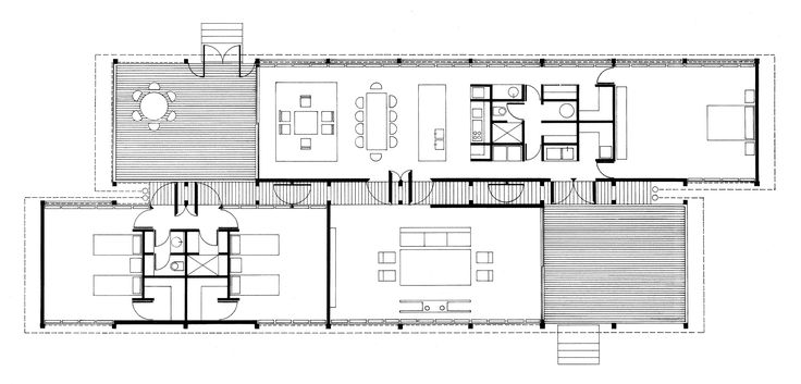 Marie Short House  Glenn Murcutt   1975  Plan