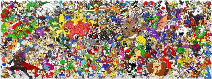 304 Nintendo characters, one awesome piece of fan art.