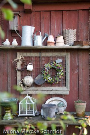 excited for spring & getting the flower pots out