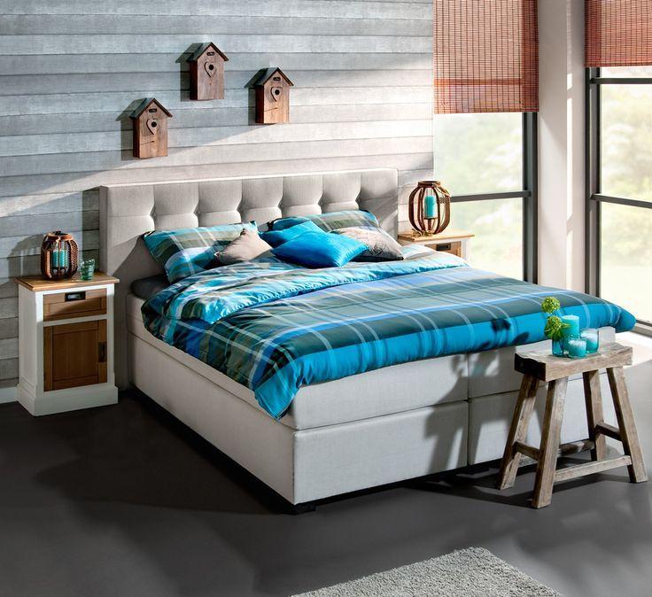 Gebruik accessoires in je slaapkamer die je niet heel alledaags zijn om een speels effect te creëren #interieurtip