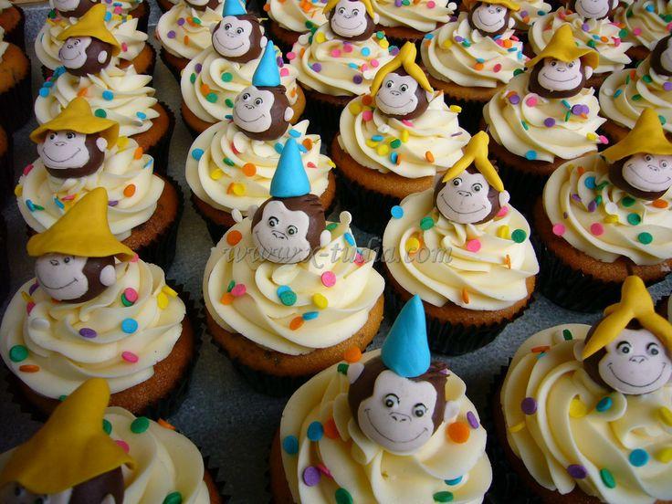 Cupcakes Jorge el curioso